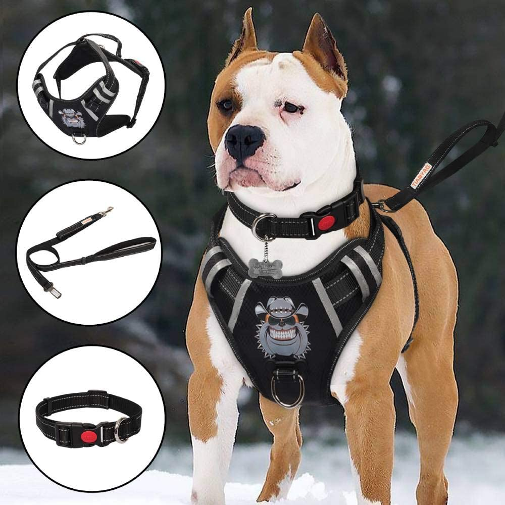TIANYAO Dog Harness No-Pull Dog Vest Review