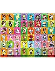 48 stuks kaarten, NFC-speltag zeldzaam personage dorpskaarten dier kruisen nieuwe horizons voor Amiibo-kaarten, serie 5 spelkaarten voor schakelaar/schakelaar Lite/Wii U/nieuwe 3DS, voorverkoop, (groot formaat)