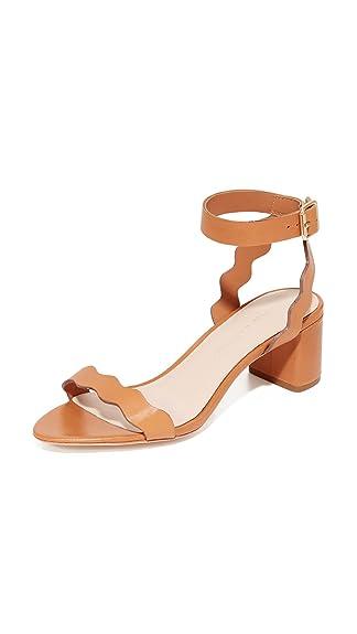 Loeffler Randall Women's Emi City Sandals, Light Cuoio, 6 B(M) US