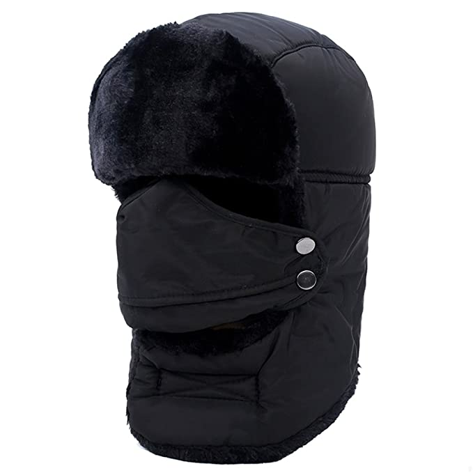 e51e69dcd42dc GADIEMENSS Winter Masks Hat Mens Cap Sport Girls Outdoor Clothing Hunting  Accessories for Women Men Women ...