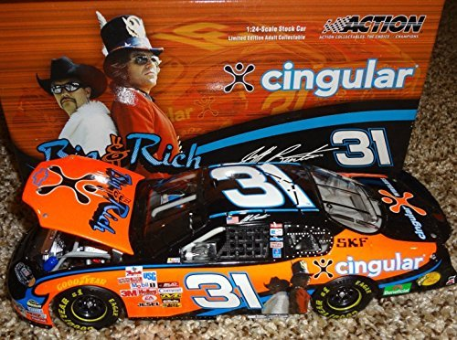 (Jeff Burton #31 Cingular Wireless Chevy Rock & Roll 2005 Monte Carlo Big Rich Action 1 of 1,452)