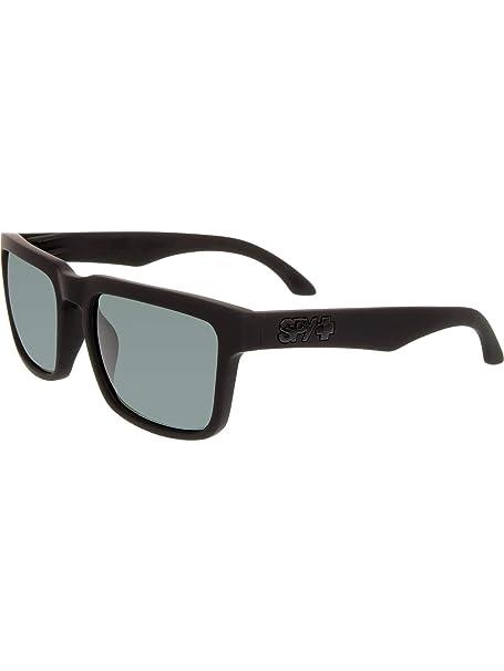 2392d00a02 Spy Optic Helm 673015973863 Flat Sunglasses Soft Matte Black happy Gray green  Polar