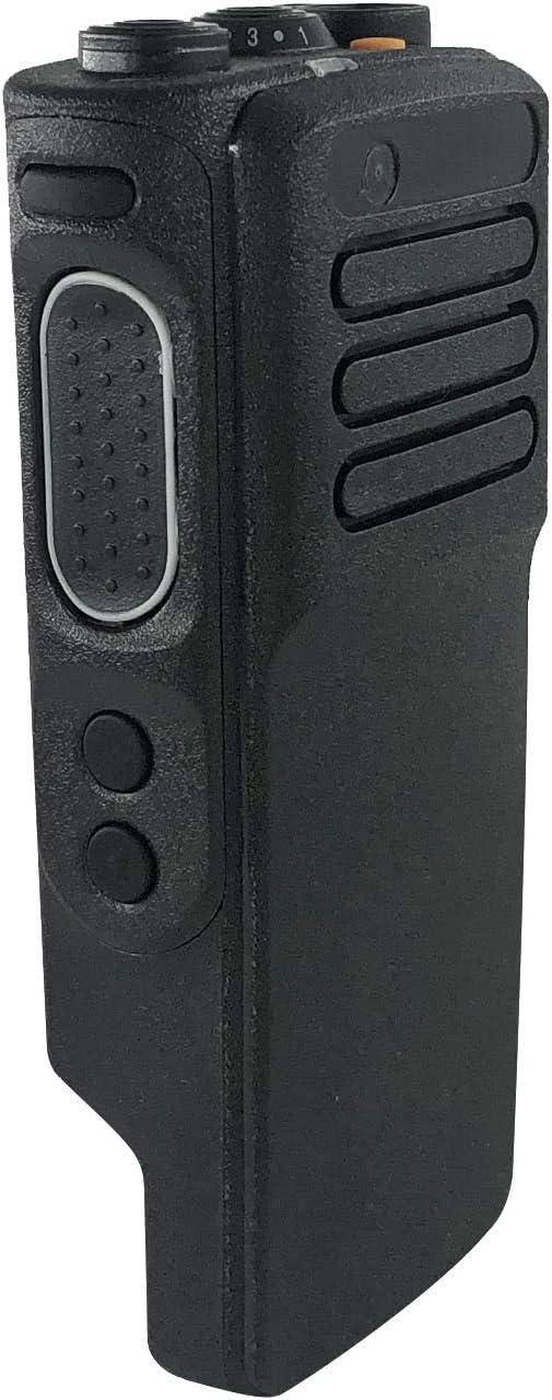 Amasu Black Replacement Repair Kit Case Housing for Motorola XPR7350e Portable Radio Speaker+Mic