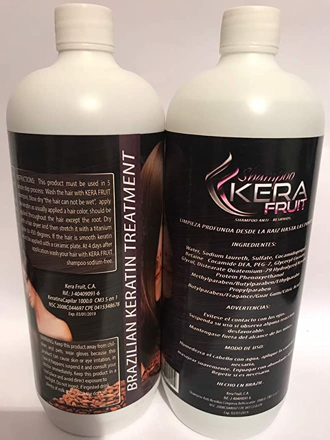 Amazon.com : KERATIN Kera Fruit Chocolate 1 Litro (Shampoo-Queratina) : Everything Else