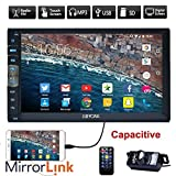 New Brand Upgarde Version 7 Inch Capacitive Touch Screen Audio (Mirror Link for