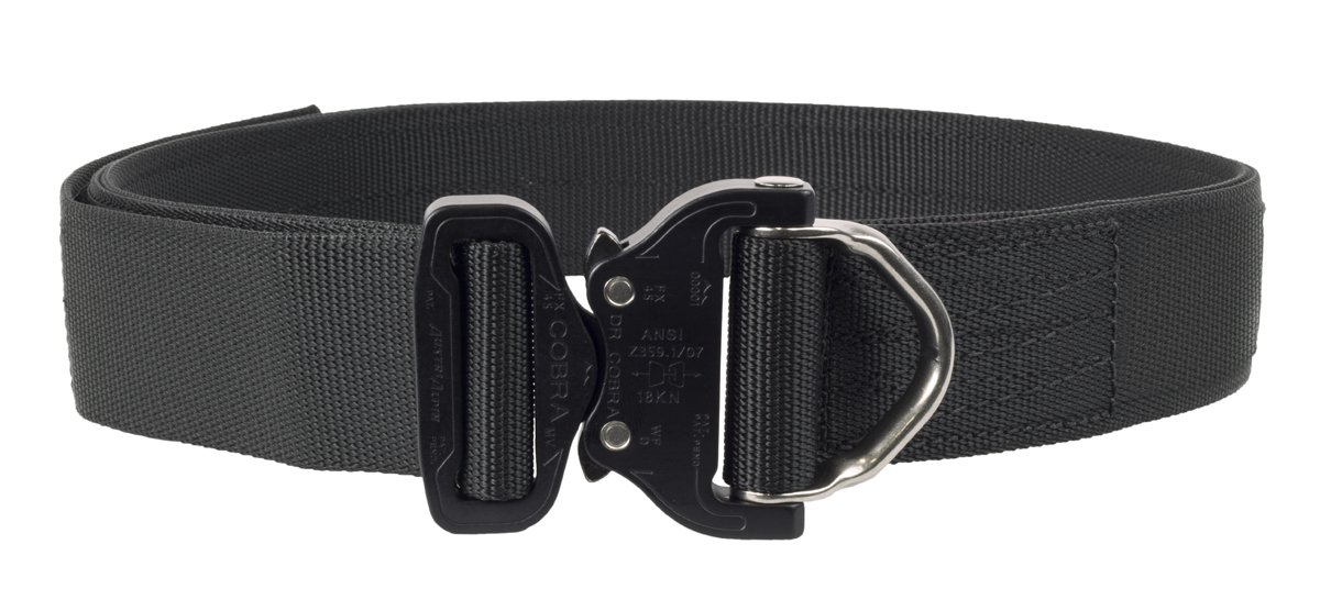 Elite Survival Systems ELSCRB-B-XL Cobra Rigger's with D Ring Buckle Belt, Black, X-Large