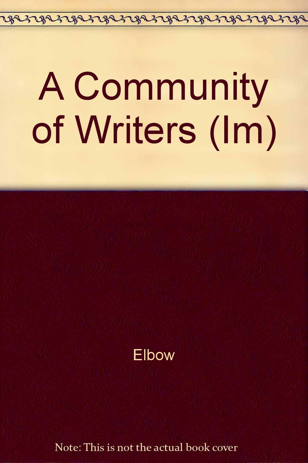 Download A Community of Writers (Im) pdf