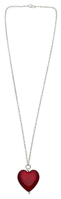 heart com ip dolce vita goldtone necklace pendant walmart flat