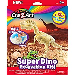 Cra-Z-Art Super Dino Excavation Kit Science Kit