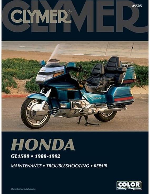 amazon.com: 1988-1992 honda gl1500 clymer manual hon gl1500 88-92,  manufacturer: clymer, manufacturer part number: m505-ad, stock photo -  actual parts may vary.: automotive  amazon.com