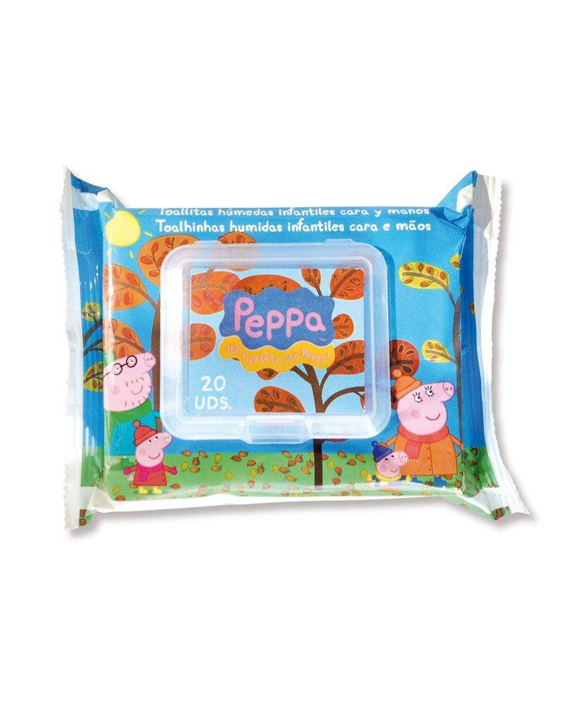 Peppa Pig - 8410800061606 - Toallitas Húmedas Cara y Manos Peppa Pig 20 uds: Amazon.es: Belleza
