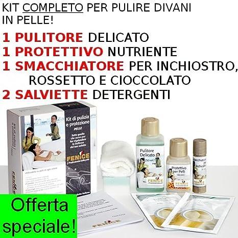 Kit di pulizia e protezione pelle con pulitore maxi e protettivo ... 66c30eb0a90