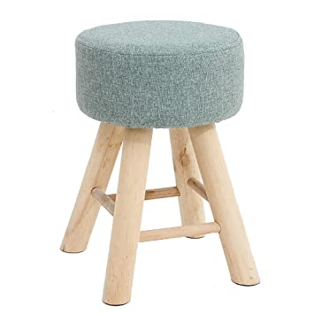 Amazon.de: stool Runde hölzerne Klammer Stuhl Schlafzimmer Hocker ...