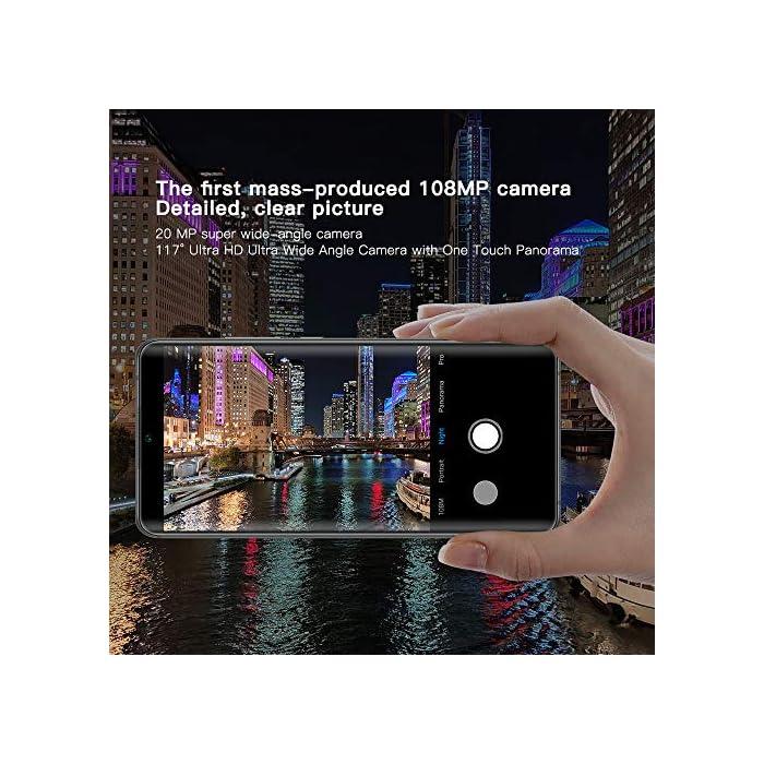 """61IDhHiDq2L Haz clic aquí para comprobar si este producto es compatible con tu modelo Cámara Frontal: cámara autofoto de 32MP, resolución ultra alta, capaz de grabar detalles minuciosos como puntas en el pelo, pestañas y detalles faciales, mientras que la función de edición posterior sigue siendo tan de alta calidad como antes. Cámara Trasera Penta: Mi Note 10 presenta una cámara de 108MP, con una resolución de foto única de hasta 12032 x 9024, ¡12 veces más alta que la resolución 4K! Con un sensor de imagen súper grande en un tamaño de 1 / 1.33 """", la cámara en Mi Note 10 supera a la mayoría de las cámaras digitales. Con teleobjetivo de 5MP + cámara de retrato de 12MP + cámara ultra gran angular de 20MP + cámara macro de 2MP."""