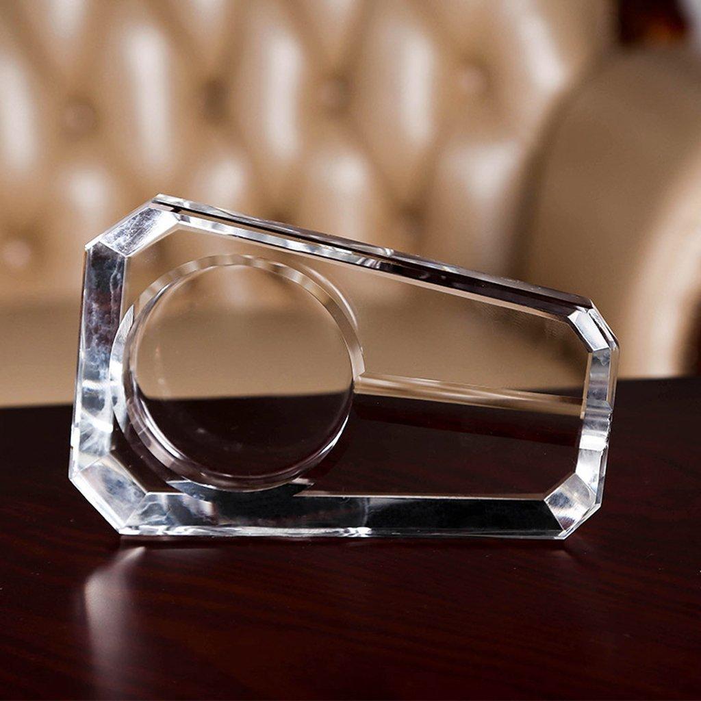 HYLR Creative fashion Fine cigar crystal ashtray European luxury style