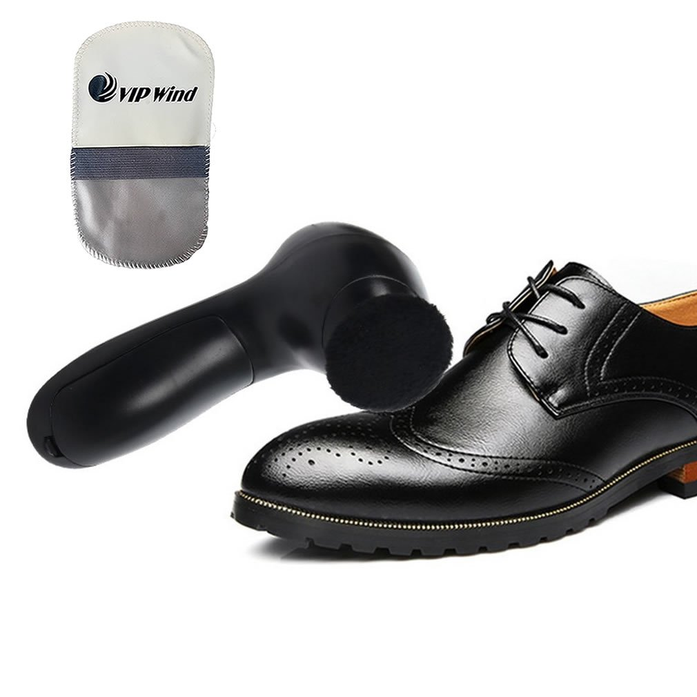 Electric Shoe Polisher (Black)