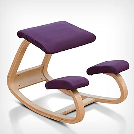 Amazon.com: WOOD Kneeling Chair Solid Childrens Study Chair ...