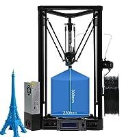 Anycubic Delta Rostock Impresora 3D, kit Kossel para montar, tamaño de la impresión φ230x 270mm (versión plus), Auto-Level Kossel Plus, 1