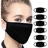 6Pcs Bandana Face Mouth Face Buff Headwear Dust Anti-Pollution Anti-smog, Riding Dustproof Mouth