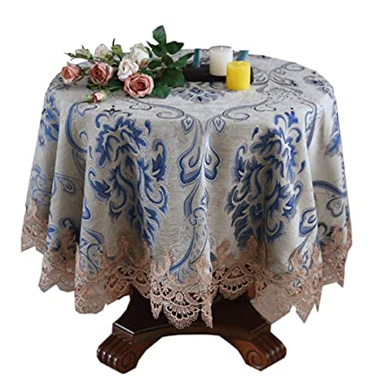 Small Round Table Cloths.Amazon Com Yxx Max Small Round Tablecloth Household Restaurant