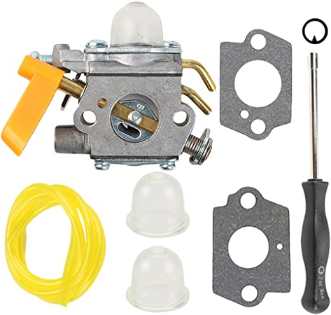 Hilom C1U-H60 Carburetor for 25cc 26cc 30cc Ryobi Homelite String Trimmer RY28100 RY28120 RY28121 RY28140 RY28141 308054013 308054012 308054004 ...