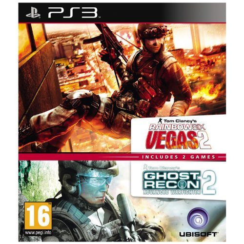 Tom Clancy's Rainbow Six: Vegas 2 & Ghost Recon: Advanced Warfighter 2 (PS3) (UK IMPORT (Tom Clancys Rainbow Six Vegas 2 Ps3)