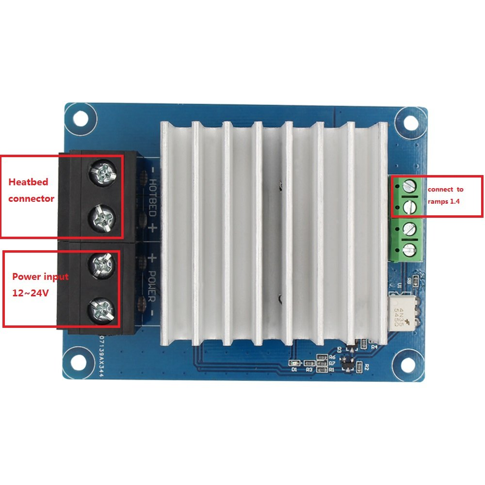 anycubic 3d printer heating controller mks mosfet for heatbed arduino uno r3 pinout diagram anycubic 3d printer heating controller mks mosfet for heatbed extruder mos module amazon com industrial & scientific
