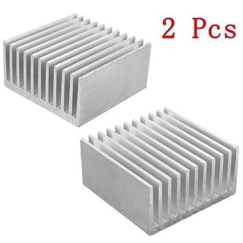 Aluminiumkühlkörper-Kühlkörper für Verstärker-Transistor der hohen Leistung Hot