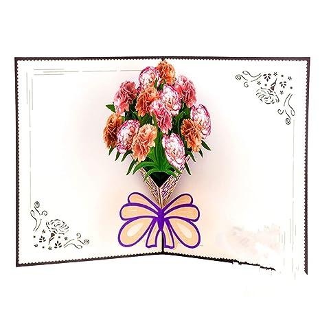 Tarjeta de felicitación del día de la Madre Talla de Papel ...