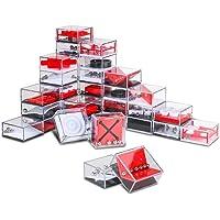 Nesloonp Set de 24 Puzzles Mini Juegos Rompecabezas Set Juegos con Niveles Diferentes Perfectos para Regalos de Fiesta…