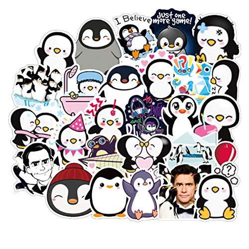 American Movie Mr. Poppers Penguins Laptop Stickers for Kids, 50 Pcs/Pack Cartoon Waterproof Vinyl Water Bottle Car Skateboard Motorcycle Bicycle Luggage Guitar Bike Decal (Mr. Poppers Penguins)