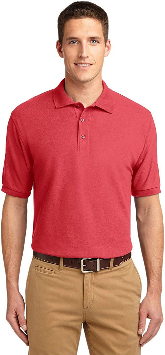 Port Authority K500ES Extended Silk Touch Polo
