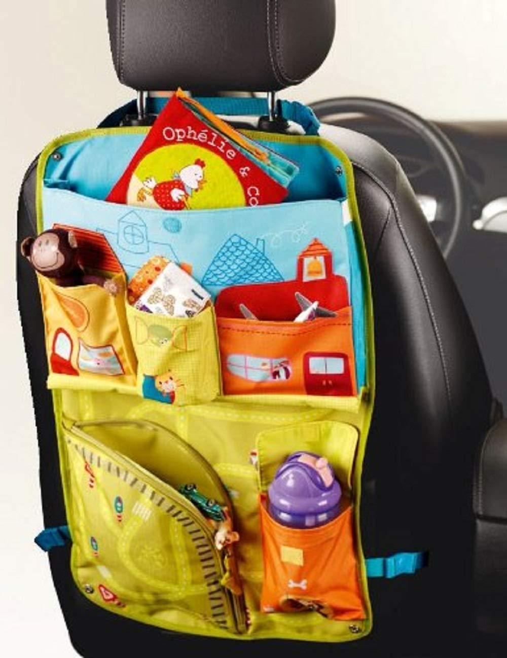 Lilliputiens 6686309 - Busta portaoggetti da auto