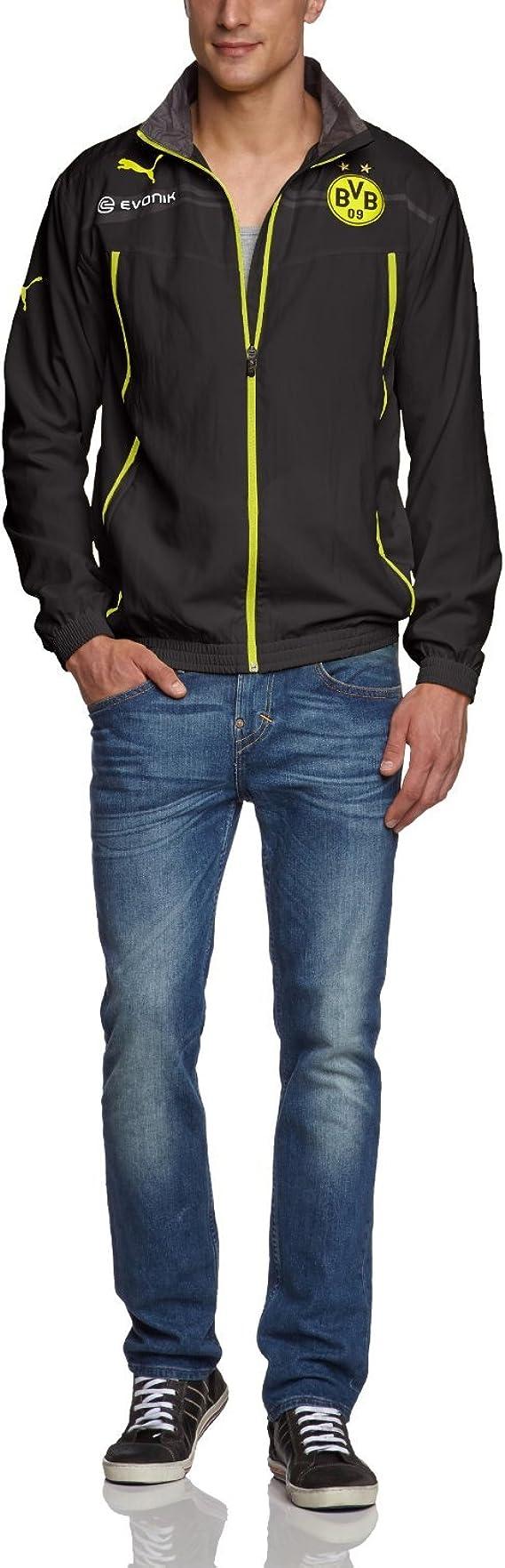 Puma Woven Jacket – Chaqueta de presentación de BVB Borussia de ...