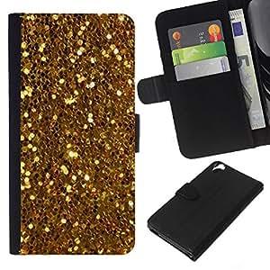EJOY---La carpeta del tirón la caja de cuero de alta calidad de la PU Caso protector / HTC Desire 820 / --PARECE Bling Patrón brillante