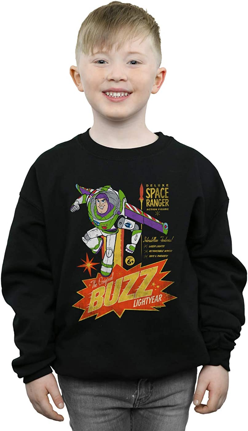 Disney Boys Toy Story 4 The Original Buzz Lightyear Sweatshirt