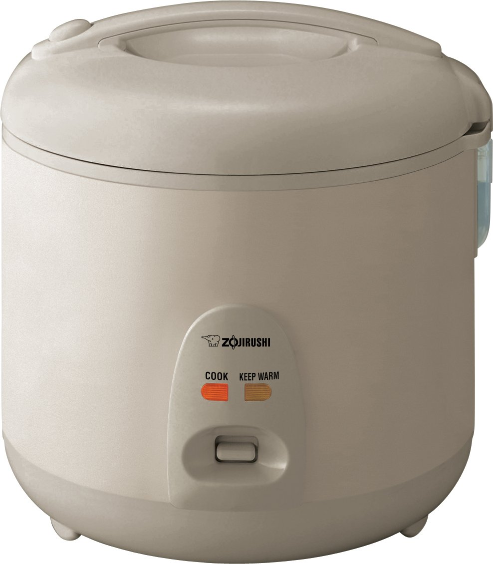 Zojirushi NSRNC18NL Automatic Rice Cooker and Warmer 10-Cup / 1.8-Liter, Champagne Gold