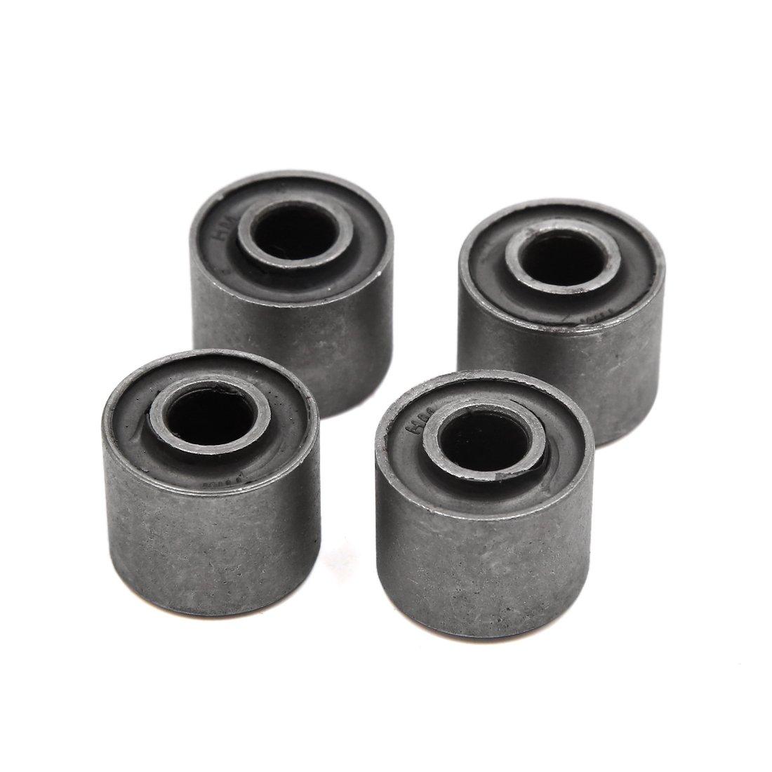 uxcell 4Pcs 10mm Inner Dia Metal Rear Wheel Damper Bush Bushing for WY125