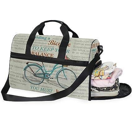 Amazon.com: Bolso de viaje para equipaje semanal con diseño ...