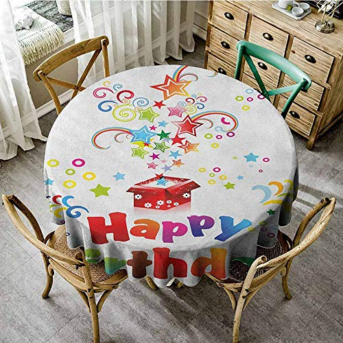 Rank-T Round Tablecloth spillproof 60