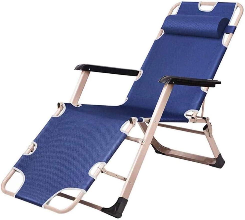 LQRYJDZ Al aire libre reclinable, plegable y ajustable Sillón, divanes sillas de ruedas jardín al aire libre de descanso de la cubierta plegable chairsRemovable apoyo for la cabeza, transpirable, cómo