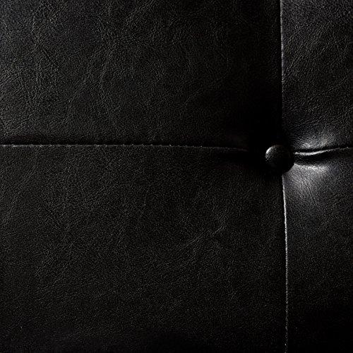 Homelegance 4605BK Metal Base Bench, Black by Homelegance (Image #5)