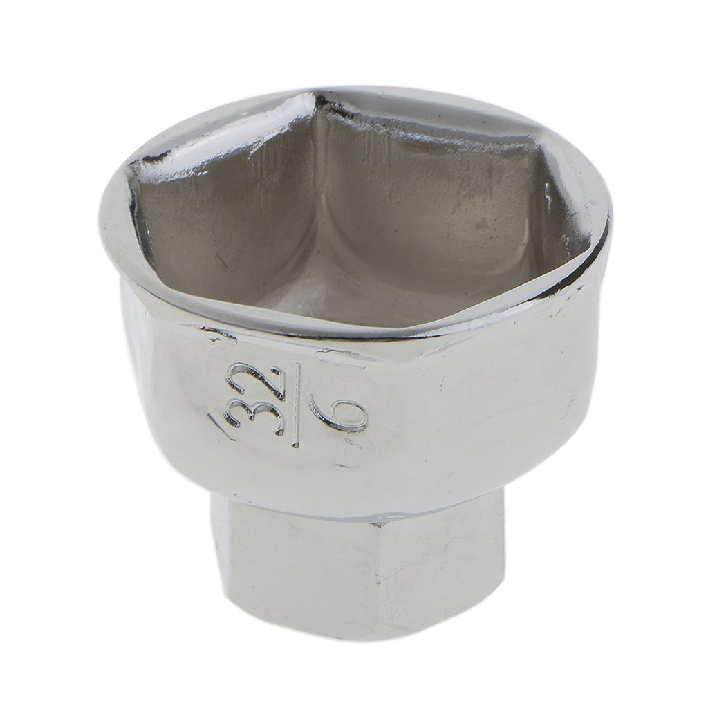 Easy Instaration Baosity Universal 32mm Oil Filter Socket Housing Tool Remover Cup Wrench Low Profile Designed