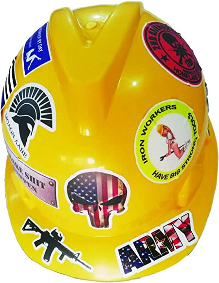 Hydro Blaster CBA Stickers   3 inches Hard Hat Decal waterproof