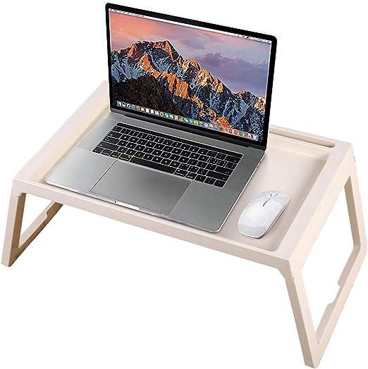 Ejoyous - Mesa para ordenador portátil, altura regulable, mesa ...