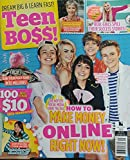 Teen Boss Sept 2017 How To Make Money Online Right Now Business