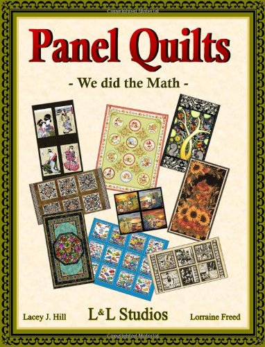 Panel Quilts - We did the Math Spiral-bound – October 25, 2012