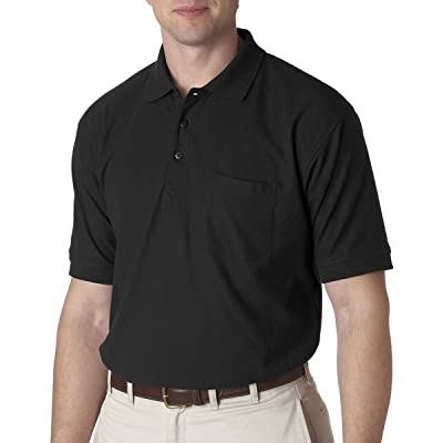 Ultraclub Adult Whisper Piqué Polo Shirt With Pocket