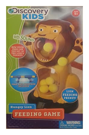 Amazon.com: Discovery Kids Hungry Lion Feeding Game: Toys & Games