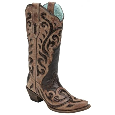 Corral Boots Chocolate C1183 | Boots